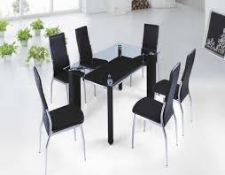 dining room black steel