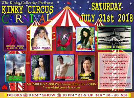 Numbers Kinky Collective <b>Presents Kinky Circus</b> Carnival