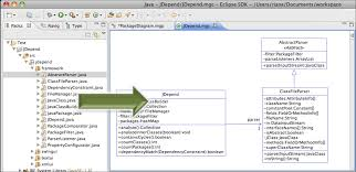 modelgoon uml java » class diagram tutorialright clicking on the editor shows a context menu   view manipulation and export actions  as the diagram is not yet notified by the jdt when code