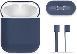 <b>AirPods</b> Case Protective, FRTMA <b>Silicone Skin</b> Case with Sport ...