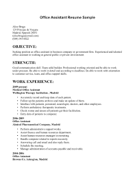 office administrator resume objective equations solver back office resume sles template office administrator
