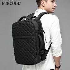EURCOOL 2019 NEW Travel Backpack Men Expandable 12cm ...