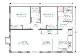 House Open Floor PlansRanch house open floor plans open  concept ranch