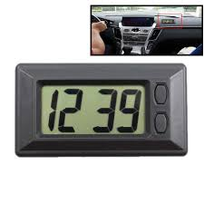 12V <b>Waterproof Digital LCD</b> Dashboard Auto Car Truck Time ...