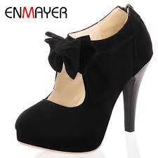 <b>ENMAYER</b> Sale New <b>Round Toe</b> Fashion Style Vintage Retro Style ...