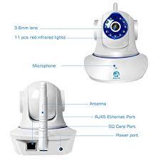 Buy <b>JOOAN Wireless IP Camera</b> HD Smart WiFi Home Security ...