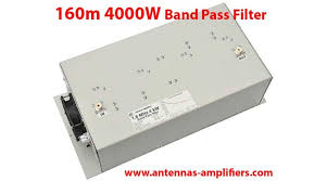 160 meter Topband <b>Band-Pass Filter</b> 4 kW