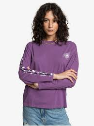 Женская <b>футболка</b> с длинным рукавом <b>Quiksilver Womens</b> ...
