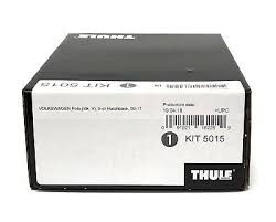<b>Thule</b> Evo Fitting <b>Kit</b> 5015 Fits <b>VW Polo</b> H/Back 2009 - 2017 on With ...