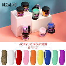 <b>ROSALIND</b> Acrylic Powder Poly Gel Of Nails Extension <b>Builder</b> ...