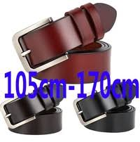 105cm-170cm Cow Genuine Leather <b>Luxury Strap Male</b> Belts for ...