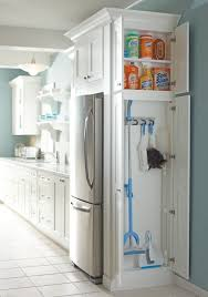 kitchen solution traditional closet:  broom closet storage solutions for kitchens of any size