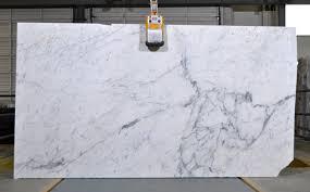 calacatta marble kitchen waterfall: michelangelo polished calacatta marble slab for kitchen and bath decor ideas and home interior design
