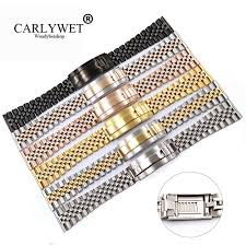 <b>CARLYWET 20 22mm Wholesale</b> Glide Lock Replacement Wrist ...