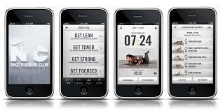 Resultado de imagem para aplicativo Nike Training Club