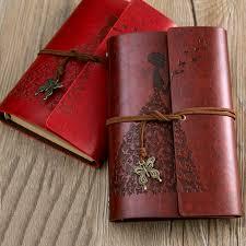 <b>RuiZe</b> diario di viaggio diario vintage in pelle diario in bianco carta ...