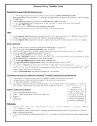 examples of good resume best teh examples of good resume 190 examples of good resume summary statements listing education on resume