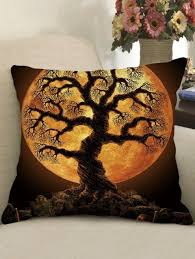 <b>Halloween Print Gothic Style</b> Decorative Pillow | Halloween prints ...
