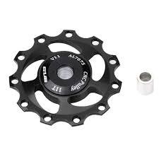 <b>1pc 11T Aluminum</b> Sealed Bearing <b>Jockey</b> Wheel Rear Derailleur ...