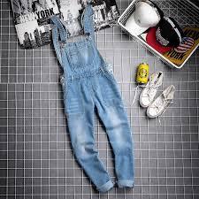 <b>Japan Style</b> Black Bib Jeans For <b>Men Spring</b> Autumn Plus Size ...