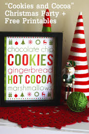 cookies cocoa christmas printables catch my party cookies cocoa christmas printables