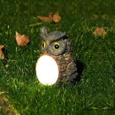 <b>Owl Solar light LED</b> Waterproof Villa Garden <b>Lamp</b> - Washing ...