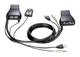 <b>2</b>-<b>PORT</b> USB KVM SWITCH
