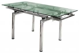 steel glass top dining table dining table with stainless steel top home decor interior exterior exc