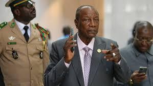 Guinea referendum: President Conde postpones vote | Alpha Conde ...
