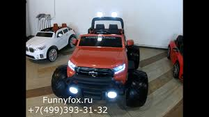 <b>Детский электромобиль</b> Ford Ranger Monster Truck 4WD DK ...