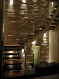 stair lighting design application lamps staircase