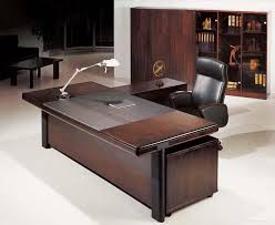 office workspacedazzling dark brown wood executive office desk design ideas with cool black attractive modern office desk design