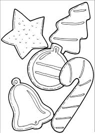 Small Picture Cookies And Candy Cane For Christmas Coloring Page Christmas