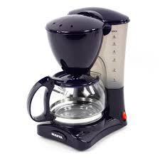 Кофеварка <b>MARTA MT-2115 темный топаз</b> 550Вт 4-6 чашек (8 ...