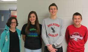 milford students finish in top in stock market game congratulations to students from mrs baugh s banking finance class at the high school junior iles team captain sophomores maria molett and
