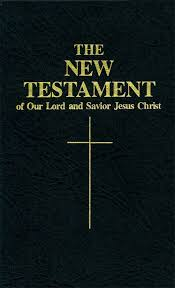 Image result for The new testament of Jesus Christ
