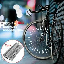 Reflective Card Strips <b>Bicycle Hot Wheels Spokes</b> Reflective Strips ...
