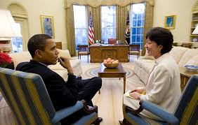 filebarack obama and susan collins in the oval officejpg fileobama oval officejpg