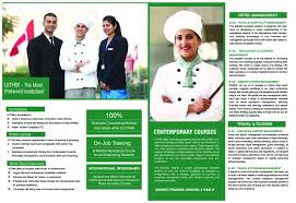 university institute of tourism and hospitality management 2016brochure