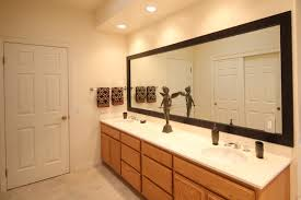 update bathroom mirror: fascinating large bathroom mirror update to decorate your design