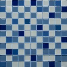 <b>orro mosaic стеклянная мозаика</b> blue atlantic 29,5x29,5x0,4