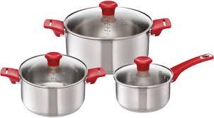 Купить <b>набор посуды</b> Tefal Jamie Oliver, <b>6 предметов</b> (H802S674 ...