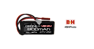 Venom Group <b>3.7V 800mAh 25C</b> 1S <b>LiPo Battery</b> with Micro Losi