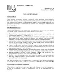 courier resume doc mittnastaliv tk courier resume 24 04 2017