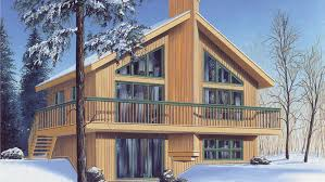 Chalet Home Plans   Chalet Home Designs from HomePlans com Bedroom Chalet Home Plan HOMEPW