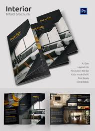 17 interior decoration brochure word psd pdf eps interior tri fold brochure template interior tri folding brochure