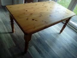 pine farm dining table