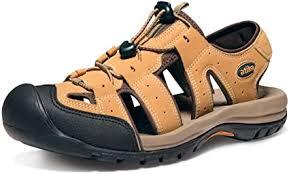 ATIKA Men's Outdoor Hiking Sandals, Closed Toe ... - Amazon.com