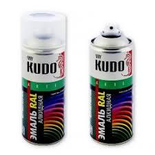 <b>Эмаль аэрозольная KUDO</b>