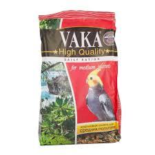 Купить <b>Корм</b> Vaka для Средних Попугаев <b>High Quality</b> 500г с ...